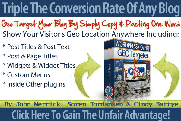 cgtty Covert Geo Targeter WP Plugin